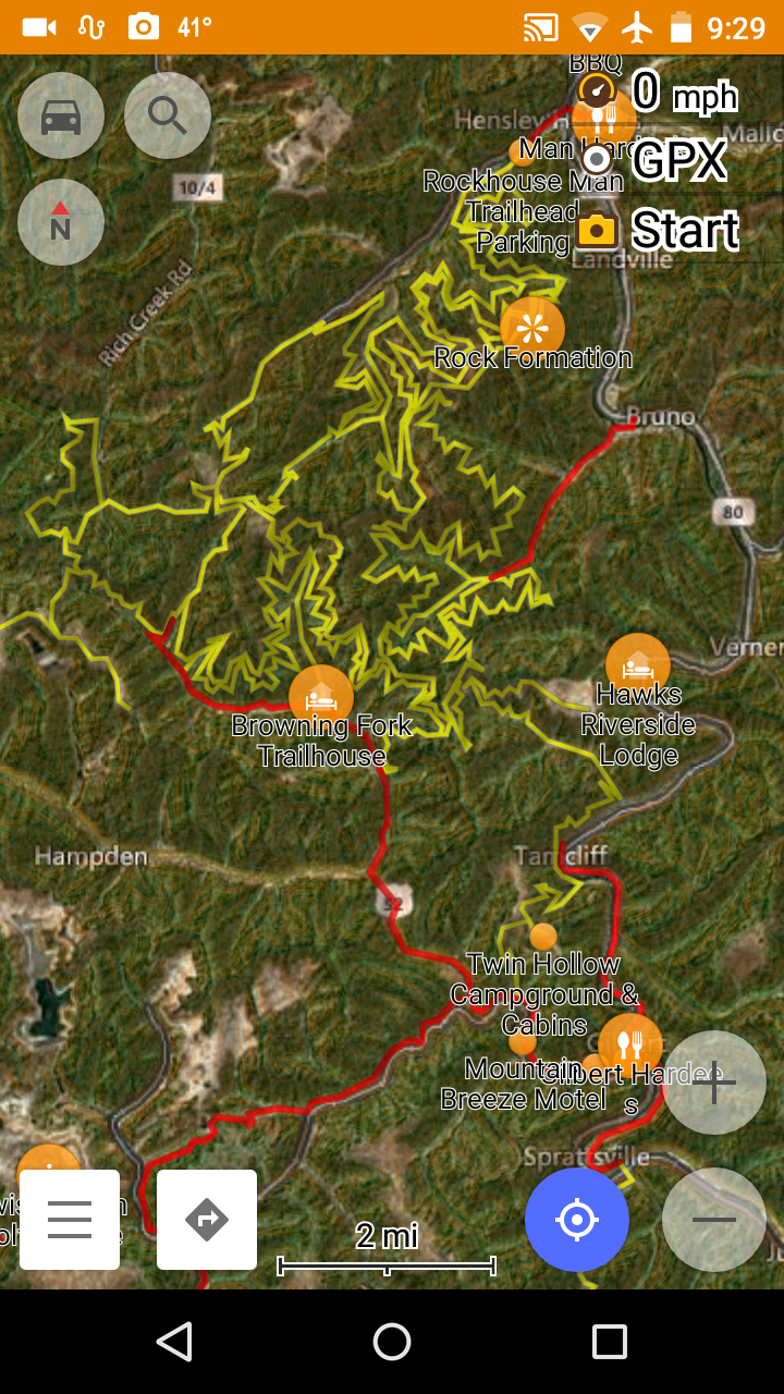 Atv Trail Maps For Android Phones And Tablets
