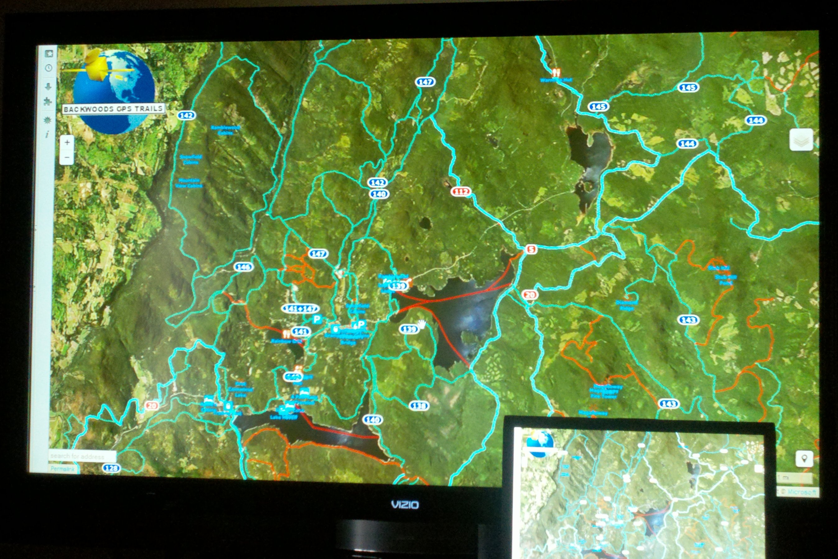 Free Sled Map For Tablets And Smartphones Umbagog Designs LLC - Visio continental us map