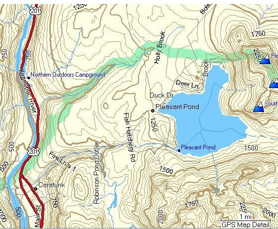 Free Topographical Maps for Garmin - Umbagog Designs LLC