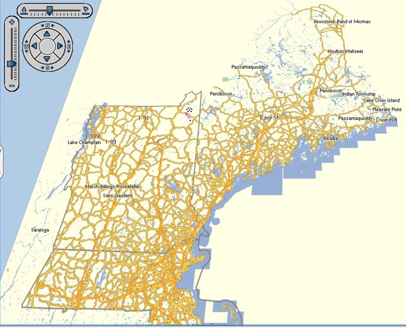 Topographic Map Of New England.Free Topographical Maps For Garmin Umbagog Designs Llc