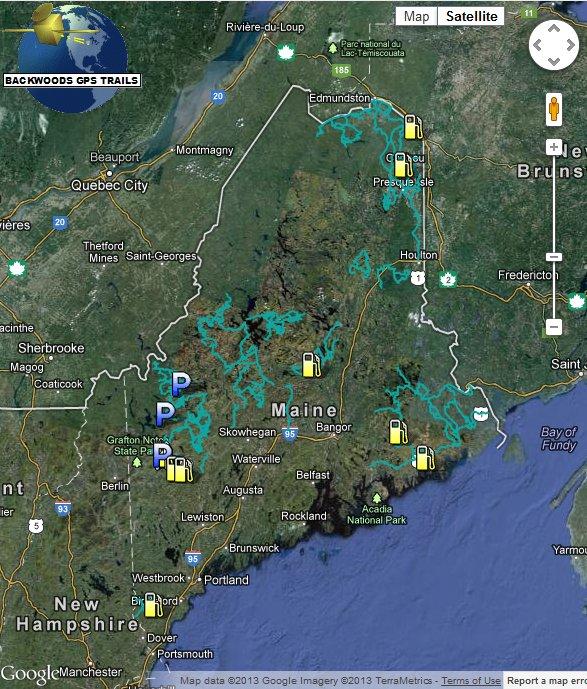 ME ATV Map for Garmin