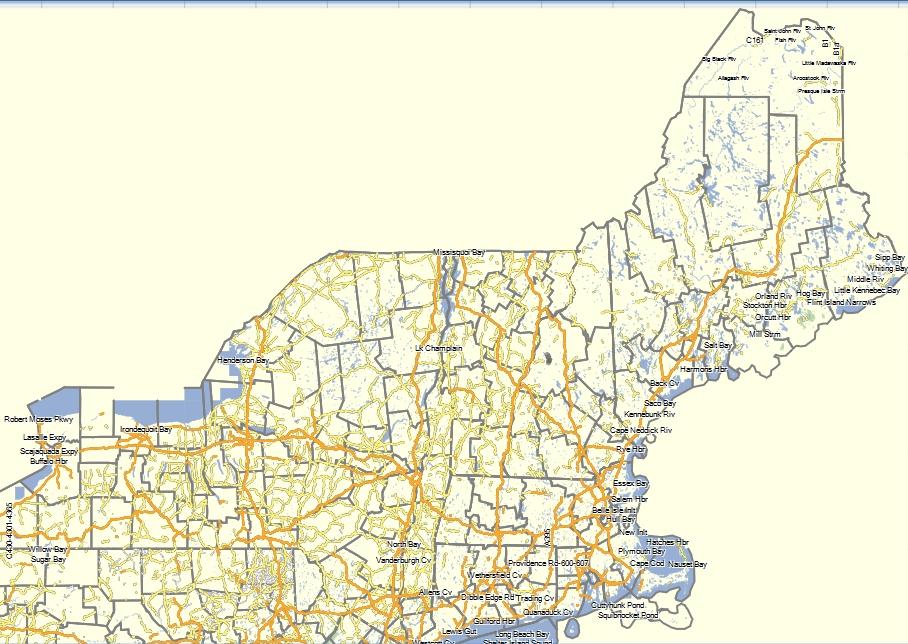 Free Topographical Maps for Garmin - Umbagog Designs LLC